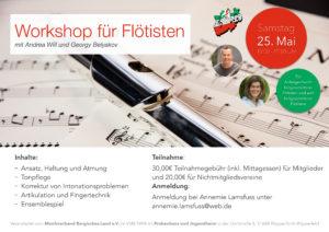 Workshop mit Flutissimo @ Probenhaus und Jugendheim